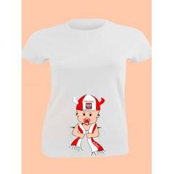 Koszulka, wzór ciążowy, KIBIC