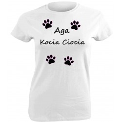 Kocia koszulka personalizowana