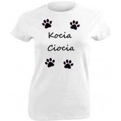 Kocia koszulka, autorski wzór