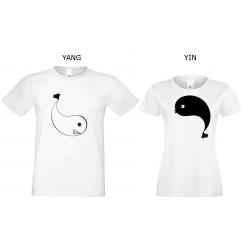 Komplet białych koszulek...